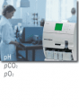 Analyzer of gases of ABL 5 blood