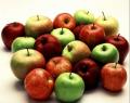 Яблоки разных сортов на экспорт