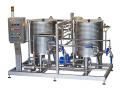 CIP (Clean-in-place) мойка на 12000 литров в час