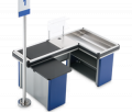 CASH CABINS, TURNSTILES AND PROTECTIONS, BASKETS AND CARTS