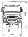 Бортовой автомобиль KAMAZ-43502-14 (S4)