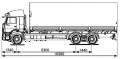 Бортовой автомобиль KAMAZ-6360-73