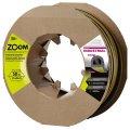 Уплотнитель Zoom самоклеющийся Zoom Industrial D 21x17мм черный