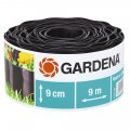 Бордюр садовый 530-20 черный 9см