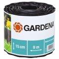 Бордюр садовый 532-20 черный 15см