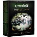 Greenfield Earl Grey Fantasy, чай черный, 100 пак.