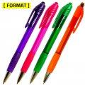 Ручка шариковая автоматическая, FORMAT 2057B, синие чернила