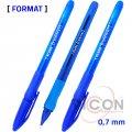 Ручка 1KLASS Format, синие чернила, 0.7 mm
