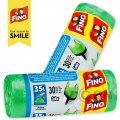 Мешки для мусора с ручками 30 шт/35л FINO