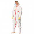 Antistatic overalls. chemical resistance. CHEMSAFE 400