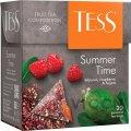 Чай Tess Summer Time зеленый, в пирамидках, 20 пакетиков