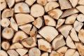Колотые дрова на зиму