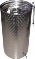 Емкости для вина из пищевой нержавеющей стали с пневматической крышкой, 55-2000 литров, Италия
