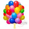 Воздушные шарики цветные, большие, 100 штук