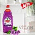Жидкость для мытья посуды, FAIRY Extra+, 900 мл, Сирень