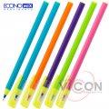 Ручка масляная Economix JUNGLE 0,7 мм, пишет синим, корпус ассорти