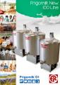 Охладитель молока 500 л - Vana de racire 500 l