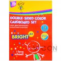 Набор цветного двустороннего картона, 10 листов, CoolForSchool