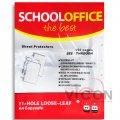 Файл для документов А4, SCHOOL OFFICE, 25 мкм, 100 шт