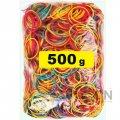 Резинки для денег цветные, 500 г