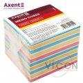 Бумага для заметок Axent Delta Color D8025, 90х90х80 мм, непроклеенная