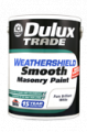 Dulux Trade Weathershield - Краска фасадная полуматовая моющаяся.