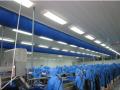 Textile air ducts isp-t for the Food industry, Food warehouses, workplaces with a low temperature, Supermarkets, gyms, Pools, Kitchens, Offices, discos, movie theaters, etc.