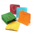 Paper bags according to the specification of the customer