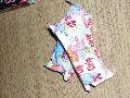Polyethylene packaging for storage of konditesky products (candies)