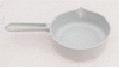 The ladle is plastic