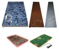 Rug with heating under legs. Mobile HEAT-INSULATED FLOOR. Electrohot-water bottle. Drying for footwear.