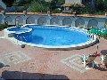 Частный бассейн открытый