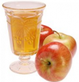 The apple juice (concentrated)