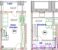 Одно-комнатная квартира 3M/AI12