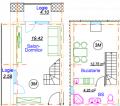 Одно-комнатная квартира 3M/CB146