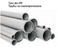 Pipes from polypropylene