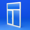 Windows from the PVC profile