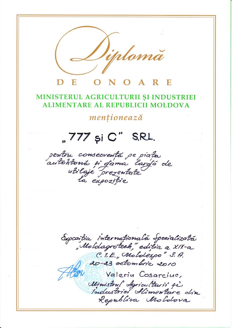 777 si C, SRL