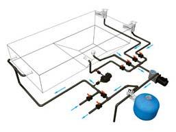 Установка фильтров для бассейнов