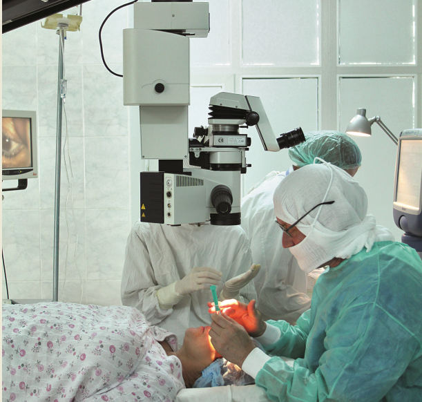Removal of a cataract by a modern method of a fakoemulsifikation in Chisina