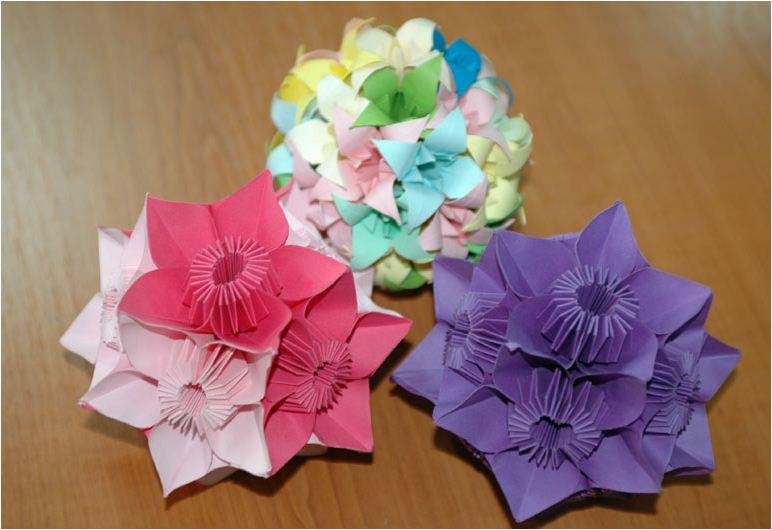 Как сделать новогодние игрушки своими руками оригами