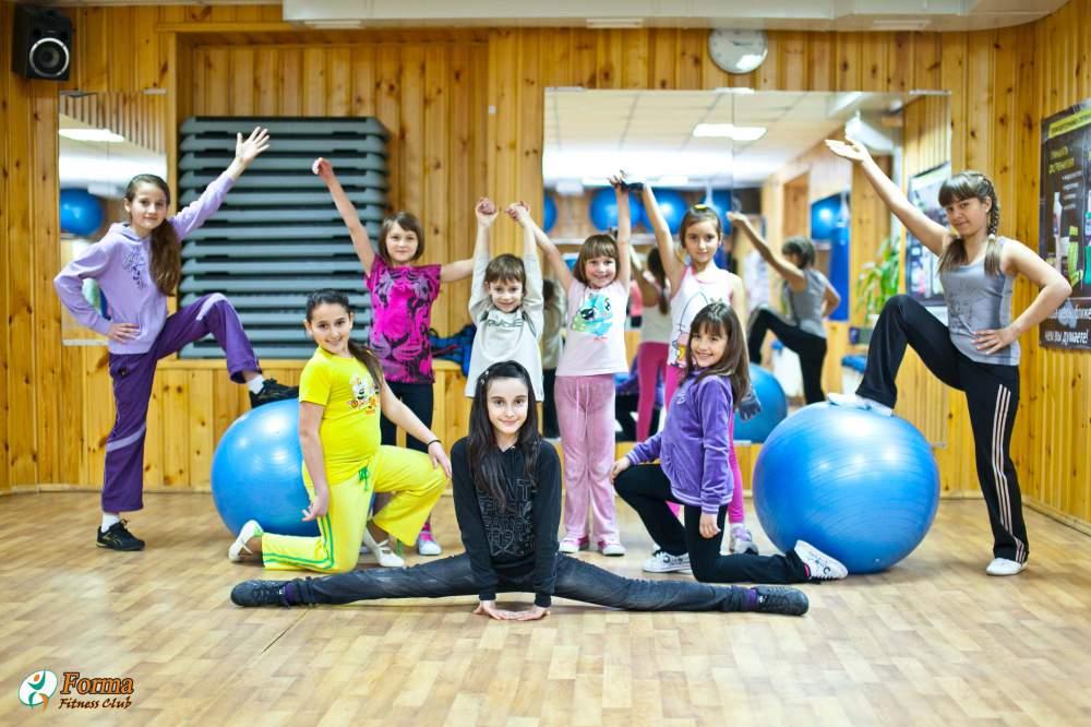Заказать Детский фитнес