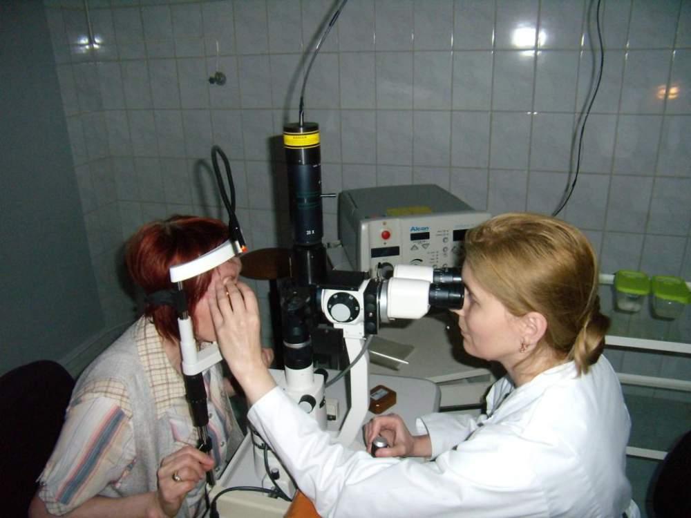 Лазерная  хирургия  переднего и заднего отрезка   глаза в Кишиневе