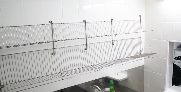 Order Drying for ware from stainless steel