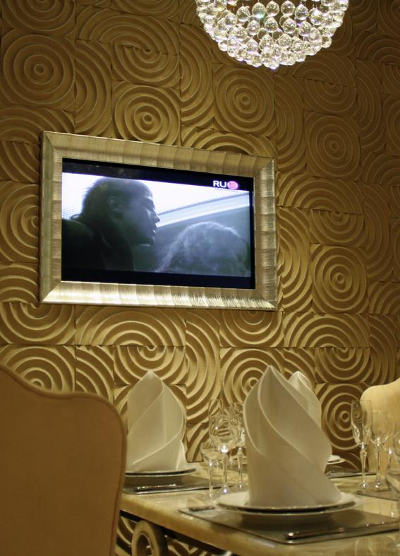 Оформление плазменных телевизоров