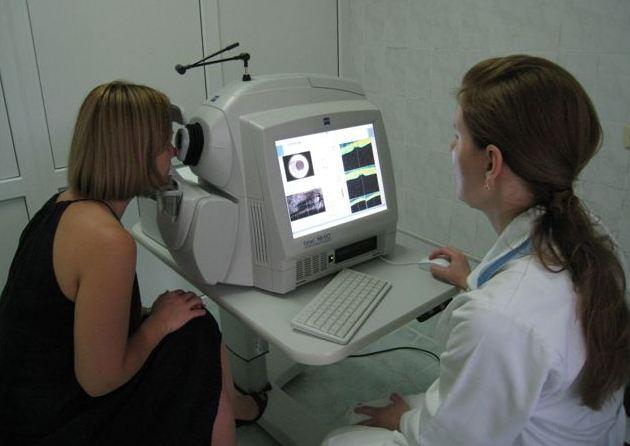 Оптическая когерентная томография глаз