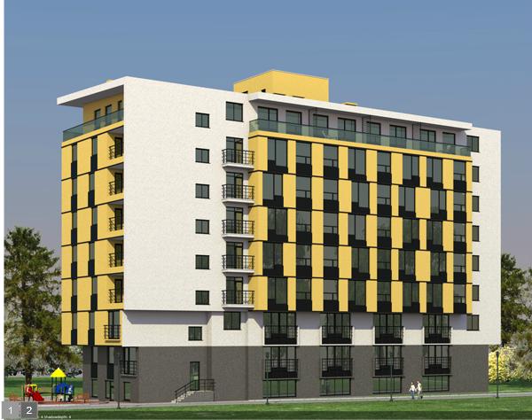 Заказать Проектирование квартир в Кишиневе. Проектирование жилого комплекса Botanik Park