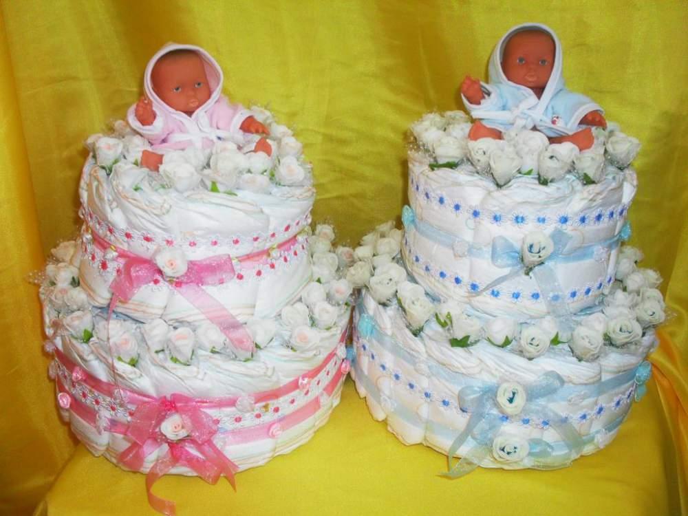 Торт из памперсов своими руками пошагово фото для девочек 10