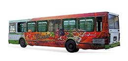 Услуги по рекламе в общественном транспорте