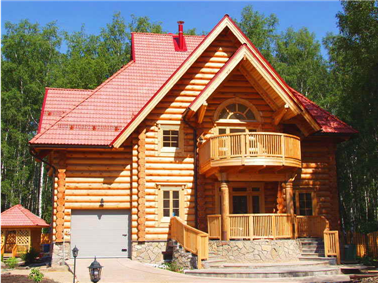 Order Construction of wooden houses